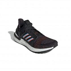 Adidas UltraBOOST 19 Férfi Futó Cipő (Fekete-Kék-Fehér) G54011