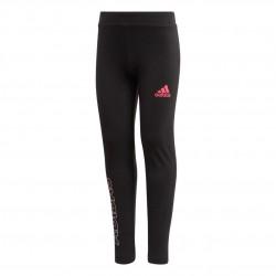 Adidas LG COT Tights Lány Gyerek Nadrág (Fekete-Rózsaszín) EH4086