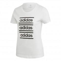 Adidas C90 Tee Női Póló (Fehér-Fekete) EH6460