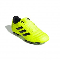 Adidas COPA 19.4 FG J Fiú Gyerek Foci Cipő (Neonsárga-Fekete) F35461