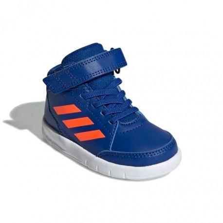 Adidas AltaSport Mid I Kisfiú Gyerek Cipő (Kék Narancssárga) G27127