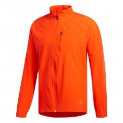 Adidas Rise Up N Run Jacket Férfi Futó Kabát (Narancssárga) DZ1576
