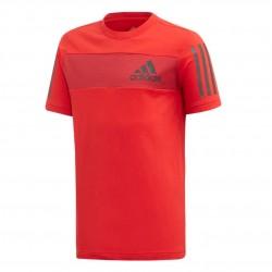 Adidas Sport ID Tee Fiú Gyerek Póló (Piros) ED6504