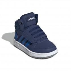 Adidas Hoops 2.0 Mid Fiú Gyerek Cipő (Kék) EE6714
