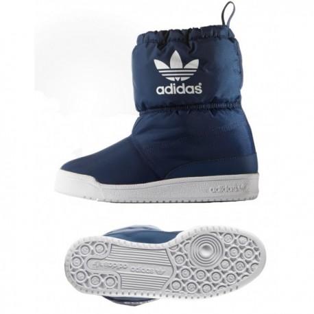 Adidas Originals Slip On Boot K Fiú Csizma (Sötétkék-Fehér) B24743 4ee0e261be