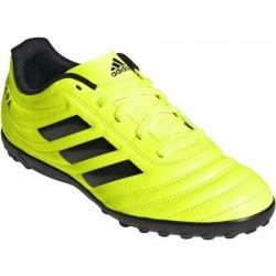 Adidas COPA 19.4 TF J Gyerek Foci Cipő (Neonsárga-Fekete) F35457