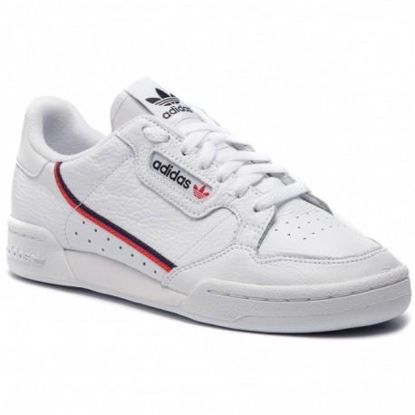 Adidas Originals Continental 80 Férfi Cipő (Fehér Piros Fekete) G27706