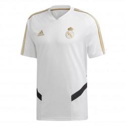 Adidas Real Madrid Training Jersey Férfi Póló (Fehér-Fekete) DX7849
