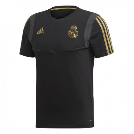 Adidas Real Madrid Tee Férfi Póló (Fekete-Arany) DX7852