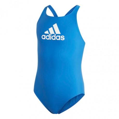 Adidas BOS Swimsuit Lány Gyerek Úszó Dressz (Kék-Fehér) DY6391