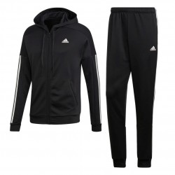Adidas Game Time Tracksuit Férfi Melegítő Együttes (Fekete-Fehér) DZ7671