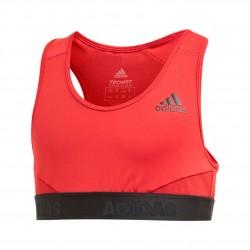 Adidas Alphaskin Sport Sports Bra Lány Gyerek Sport Felső (Bordó-Fekete) ED6294