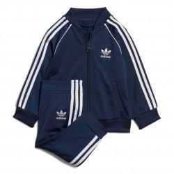 Adidas Originals SST Track Suit Kisfiú Bébi Együttes (Sötétkék-Fehér) ED7669