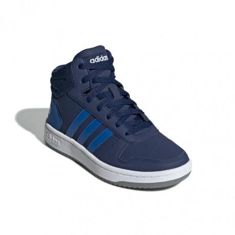 Adidas Hoops Mid 2.0 K Fiú Gyerek Cipő (Kék) EE6707