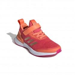 Adidas RapidaRun X EL C Lány Gyerek Cipő (Barack-Rózsaszín) EE7110