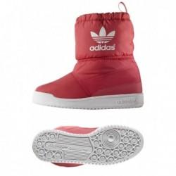 Adidas Originals Slip On Boot K Lány Csizma (Rózsaszín-Fehér) B24744