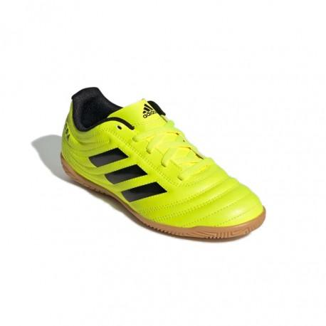 Adidas COPA 19.4 IN J Gyerek Foci Cipő (Neonsárga) F35451