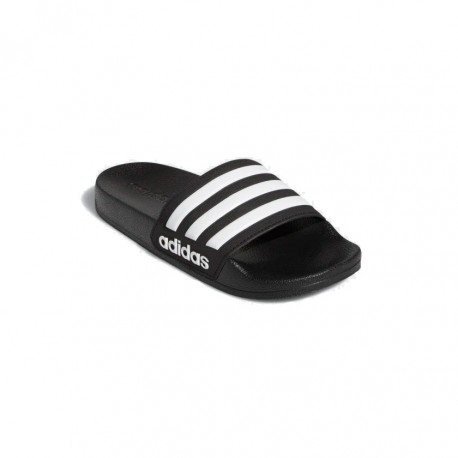 Adidas Adilette Shower Slides Gyerek Papucs (Fekete Fehér) G27625