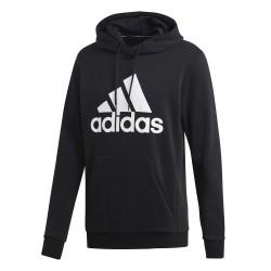 Adidas MH Badge Of Sport Hoodie Férfi Pulóver (Fekete-Fehér) DQ1461