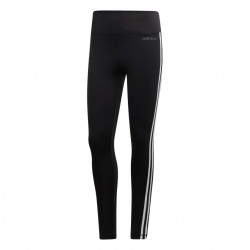 Adidas D2M 3 Stripes HR Long Tights Női Nadrág (Fekete-Fehér) DU2040