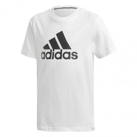 Adidas MH Badge Of Sport Tee Fiú Gyerek Póló (Fehér-Fekete) DV0815