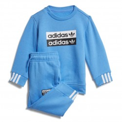 Adidas Crew Sweatshirt Set Kisfiú Bébi Együttes (Kék) ED7720