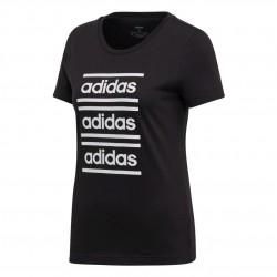 Adidas W C90 Tee Női Póló (Fekete-Fehér) EH6458