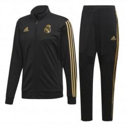 Adidas Real Madrid Suit Férfi Melegítő Együttes (Fekete-Arany) DX7867