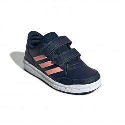 Adidas AltaSport CF K Lány Gyerek Cipő (Kék-Rózsaszín) G27089