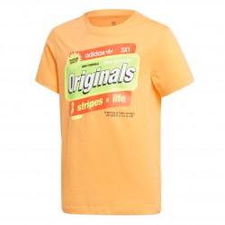 Adidas Originals Graphic Tee Fiú Gyerek Póló (Narancssárga) ED7836