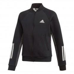 Adidas ID Sweatshirt Fiú Gyerek Felső (Fekete-Fehér) ED4660