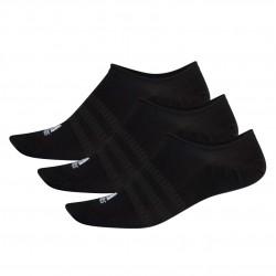 Adidas No Show Socks 3P 3 Páras Zokni (Fekete-Fehér) DZ9416