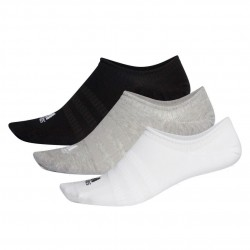Adidas No Show Socks 3P 3 Páras Zokni (Fehér-Fekete-Szürke) DZ9414