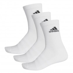 Adidas Cushioned Crew Socks 3P 3 Páras Zokni (Fehér-Fekete) DZ9356