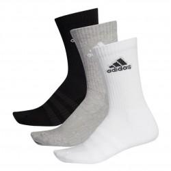 Adidas Cushioned Crew Socks 3P 3 Páras Zokni (Fekete-Fehér-Szürke) DZ9355