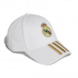 Adidas Real Madrid 3 Stripes Baseball Sapka (Fehér-Arany) DY7720