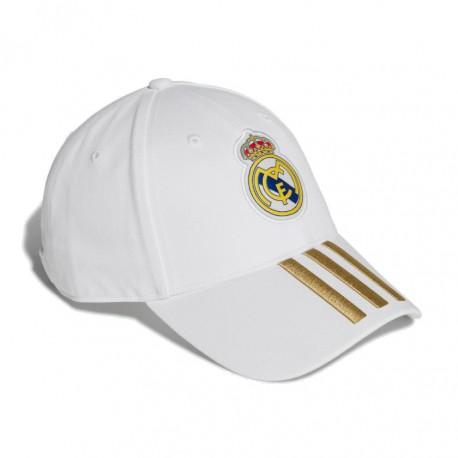 Adidas Real Madrid 3 Stripes Baseball Sapka (Fehér Arany) DY7720