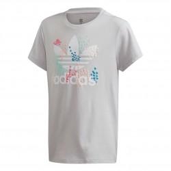 Adidas Originals Camiseta FLW Tee Lány Gyerek Póló (Világosszürke) EJ6330