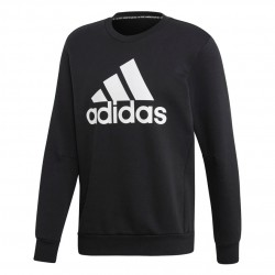 Adidas MH Badge Of Sport Sweatshirt Férfi Pulóver (Fekete-Fehér) EB5265