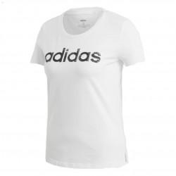 Adidas Linear Tee Női Póló (Fehér-Fekete) EI4559