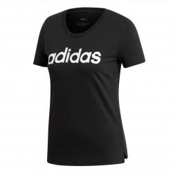 Adidas Linear Tee Női Póló (Fekete-Fehér) EI4569