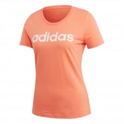 Adidas Linear Tee Női Póló (Barack-Fehér) EI4573