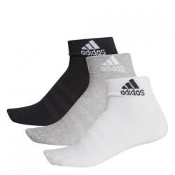 Adidas Ankle Socks 3 PP 3 Páras  Zokni (Fekete-Szürke-Fehér) DZ9434