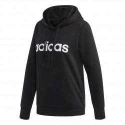 Adidas Essentials Linear Pullover Hoodie Női Pulóver (Fekete-Fehér) DP2403