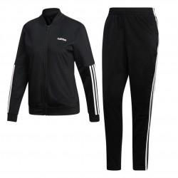 Adidas Back 2 Bas 3 Stripes Track Suit Női Melegítő Együttes (Fekete-Fehér) DV2428