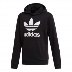 Adidas Originals Trefoil Hoodie Gyerek Pulóver (Fekete-Fehér) DV2870