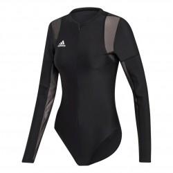 Adidas VRCT Leotard Női Body (Fekete-Fehér) DX8416