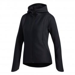 Adidas Climaheat Hoodie Női Futó Felső (Fekete) DY4198