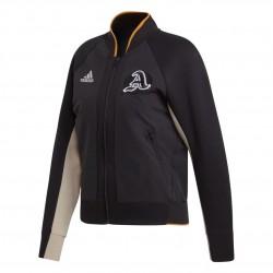 Adidas VRCT Jacket Női Felső (Fekete-Narancs) EA0422