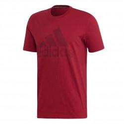 Adidas MH Badge Of Sport Tee Férfi Póló (Bordó) EB5244